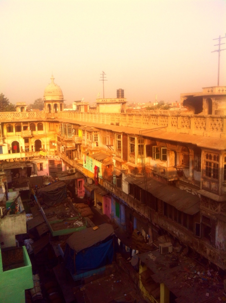 Old Delhi by sunrise